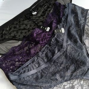 Nwt 3 Pairs Torrid size 2 Hipster Panties Sexy